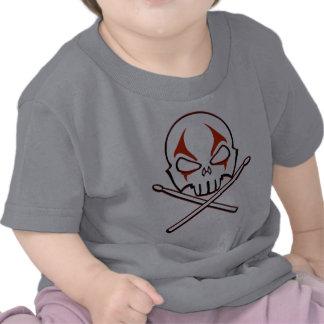 Sten- & för sten för baby för heavy metal för rull tröja