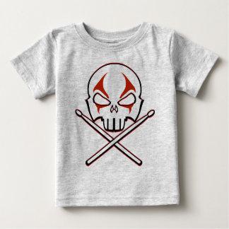 Sten- & för sten för baby för heavy metal för tee shirt
