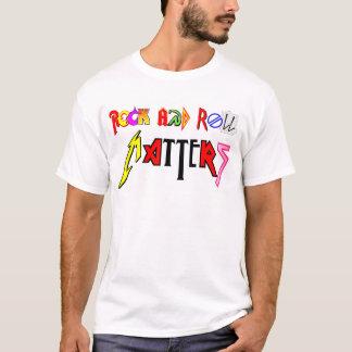 Sten - och - rulle betyder skjortan t-shirt