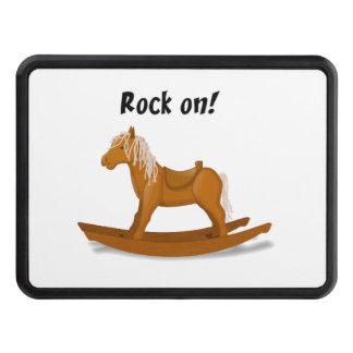Sten på att vagga hästen dragkrok skydd