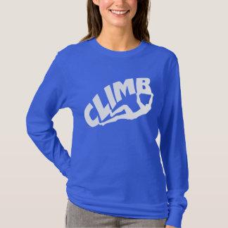 Sten som klättrar Bouldering T Shirt