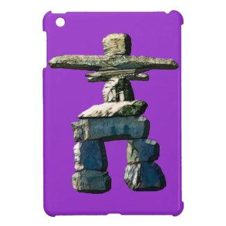 Stenar för Inukshuk indianande iPad Mini Skal