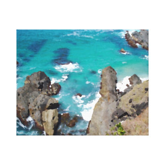 Stenar och havkanvastryck canvastryck