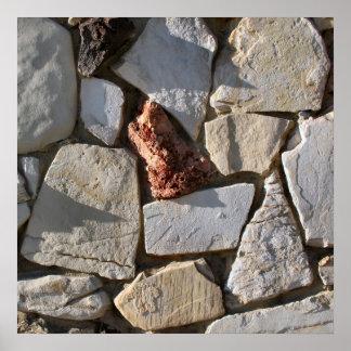 stenar och skuggar poster