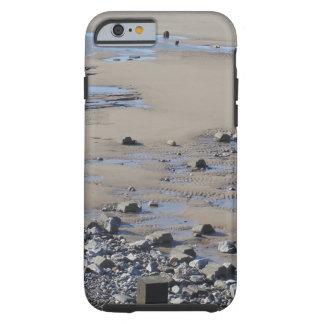 Stenar på stranden tough iPhone 6 case