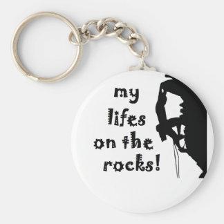 stenar rund nyckelring