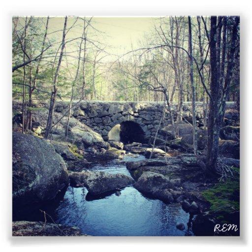 Stenbågen överbryggar, Hillsboro New Hampshire Foton