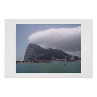 Stenen, Gibraltar Poster