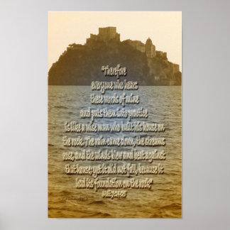 Stenen Poster