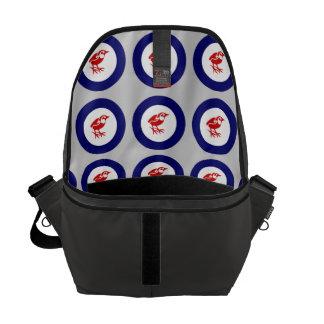 Stengärdsmyg Roundel Messenger Bag