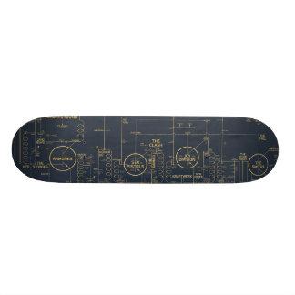Stenhistoria 101board skateboard bräda 21,5 cm