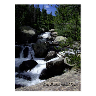 Stenig bergnationalpark vykort