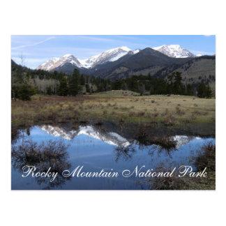 Stenig bergnationalparkvykort vykort