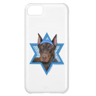 Stenig Hanukkah davidsstjärna - Doberman - iPhone 5C Fodral