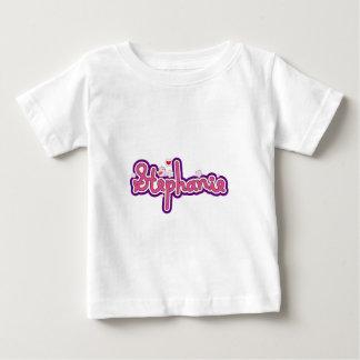 Stephanie namnpersonlig tee shirts