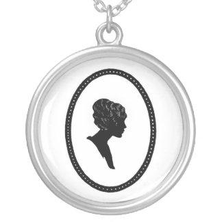 Sterling silver Necklac för Silverpläterat Halsband