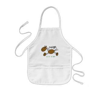 Stick figurhästTshirts och gåvor Barnförkläde