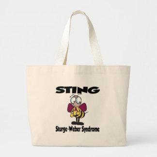 STICKA det Sturge-Weber syndromet Jumbo Tygkasse