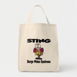 STICKA det Sturge-Weber syndromet Tote Bags