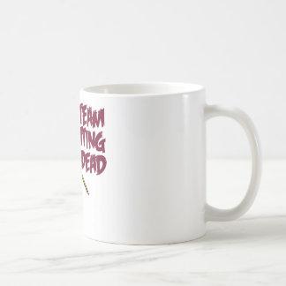 Sticka för lag som är dött kaffemugg