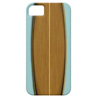 Stiger ombord bakgrund wood surfa för den iPhone 5 cover