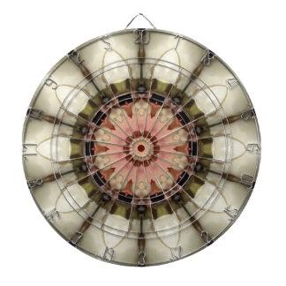 Stiger ombord den blom- Kaleidoscopepilen för roso Piltavla