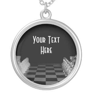 Stiger ombord det Glass schacket för svarten & för Skräddarsydda Halsband