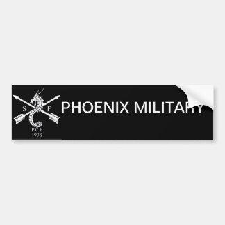 stikerpara auto Phoenix militär Bildekal