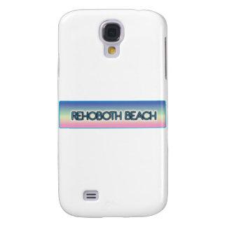 Stil 1 för regnbåge för Rehoboth strand Galaxy S4 Fodral