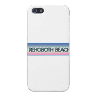 Stil 1 för regnbåge för Rehoboth strand iPhone 5 Skydd