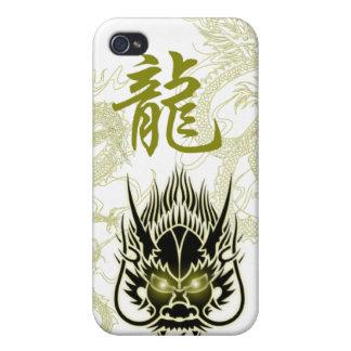 Stil av den svart draken iPhone 4 skal