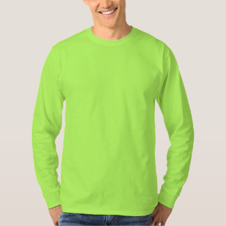 Stil: Bekväm manar grundläggande långärmadT-tröja T-shirt