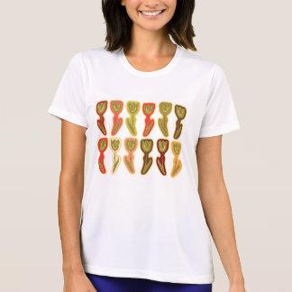 Stil: DamkapacitetsMikro-Fiber T-tröja Tshirts