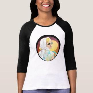 stil för 70-tal för 60-tal för skjorta för tee shirt