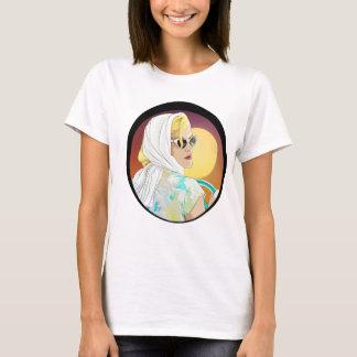 stil för 70-tal för 60-tal för skjorta för tshirts