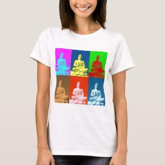 Stil för Buddha popkonst Tee Shirt