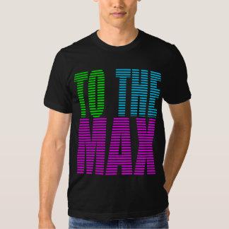 Stil för Corey tiger80-tal TILL maxet Tshirts