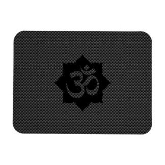 Stil för kol för Yoga för andlighet för Flexibla Magneter