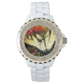 Stil: Kvinna klocka för emalj för Rhinestonevit