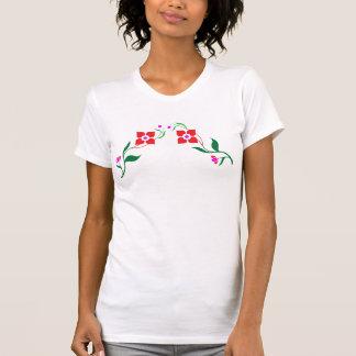 Stil: Kvinna Racerback T-tröja Tee Shirts