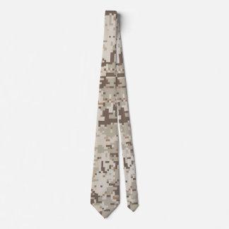 StilDigital för öken beige kamouflage Slips