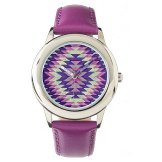 Stilfull Aztec design Armbandsur