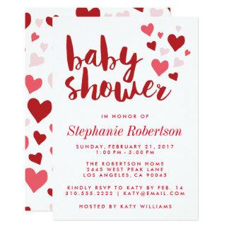 Stilfull baby showerinbjudan för älsklingar 12,7 x 17,8 cm inbjudningskort