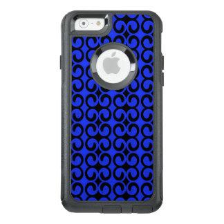 Stilfulla midnatta blått och svart mönster OtterBox iPhone 6/6s fodral