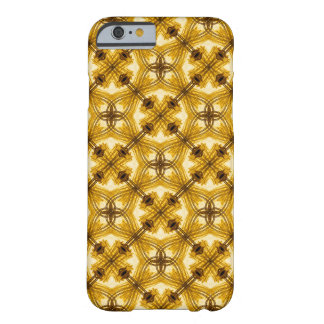 Stilfullt guld- geometriskt fodral för barely there iPhone 6 fodral