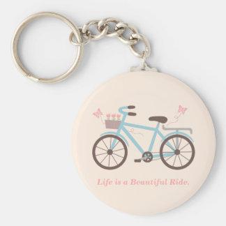 Stilfullt liv är ett härligt rund nyckelring