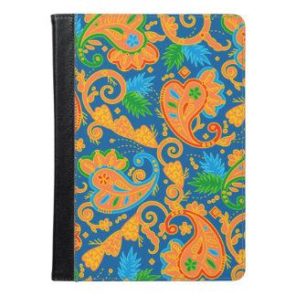 Stilfullt orange Paisley mönster