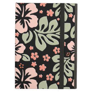 Stilfullt tropiskt blom- iPadluftfodral iPad Air Skydd