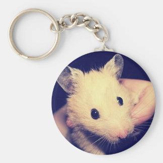 Stilig Hamster Rund Nyckelring