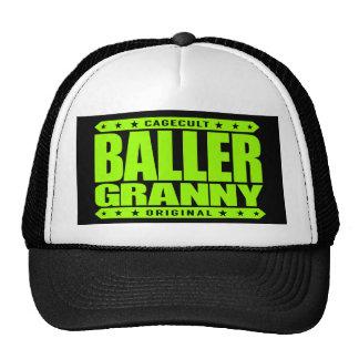 Stilla BALLER-GRANNY - vagga en gangsterYoga Keps